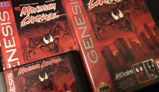 難易度さえ適正なら良作になりえたかも!MAXIMUM CARNAGE:Spider Man Venom